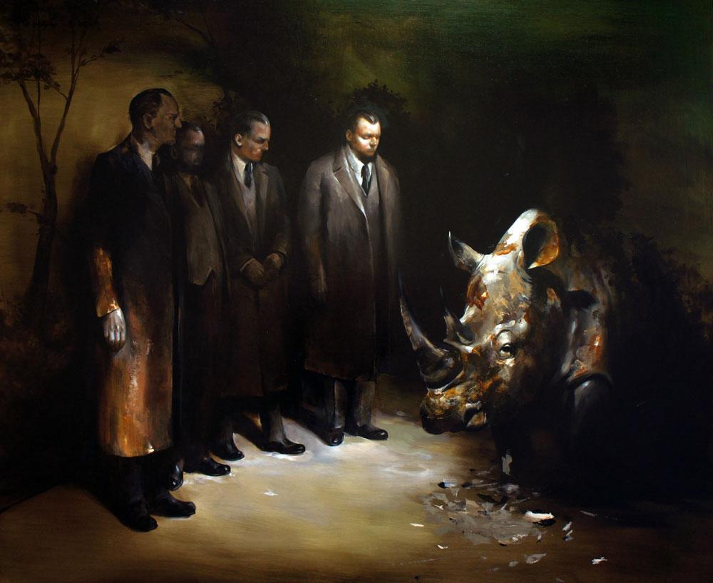 """Solo show Radu Belcin, """"Unfulfilled hopes"""" @ Oxholm Gallery, Copenhagen"""