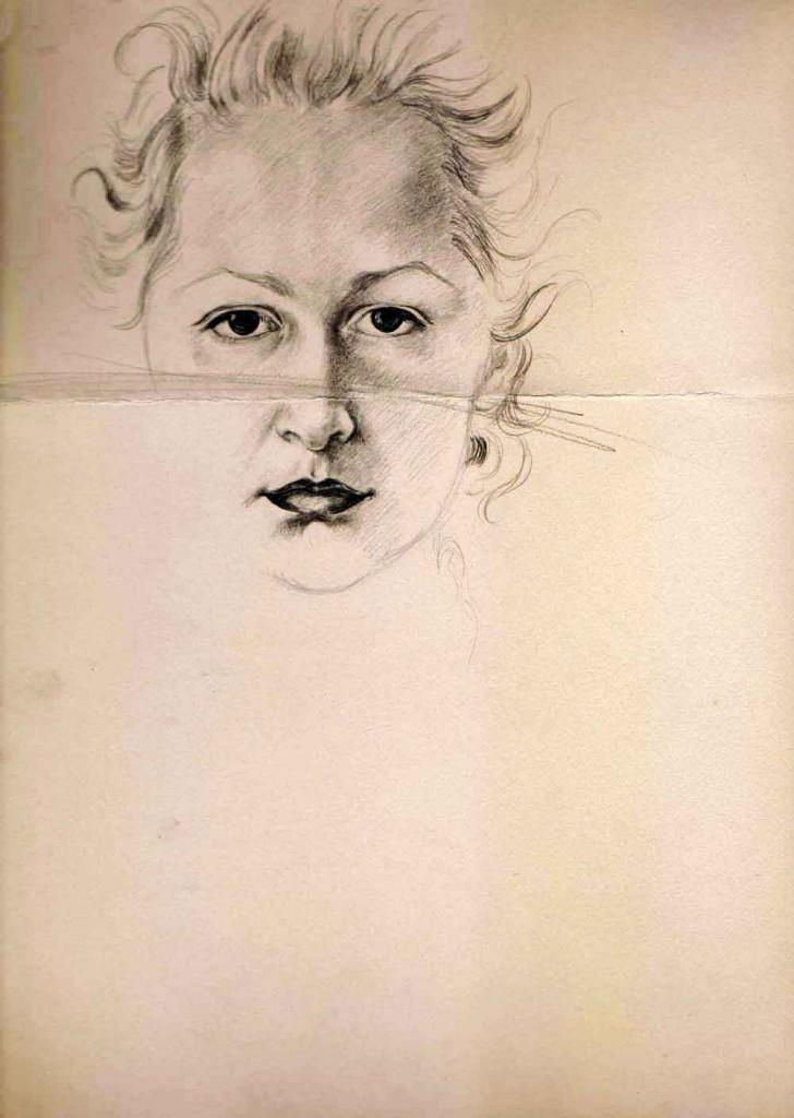 Hedda Sterne, Selfportrait