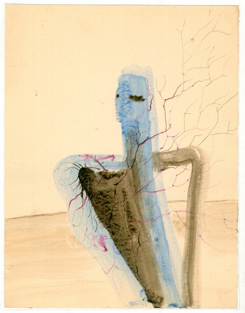 Hedda Sterne, Masculine character, 24,5 x 33 cm