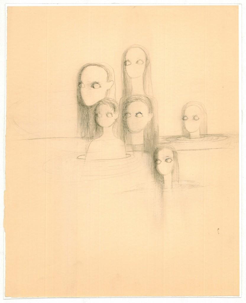 Hedda Sterne, Unitled 3, 23 x 28,5 cm