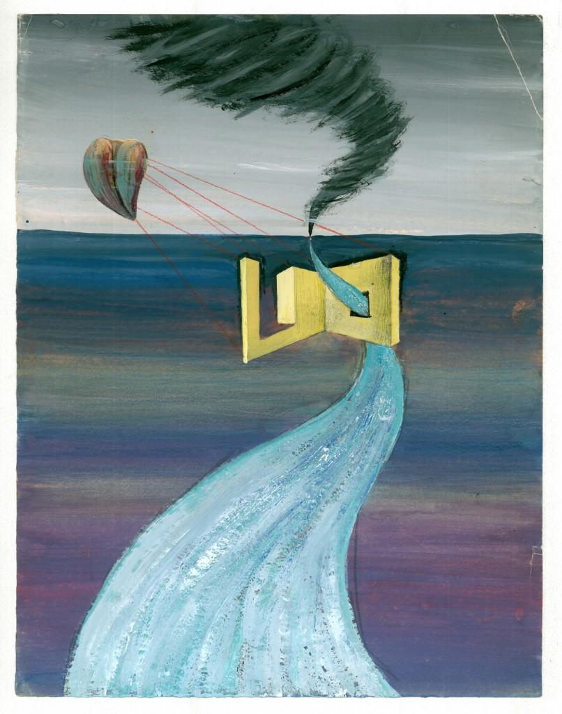 Hedda Sterne, Untitled, 25 x 32 cm