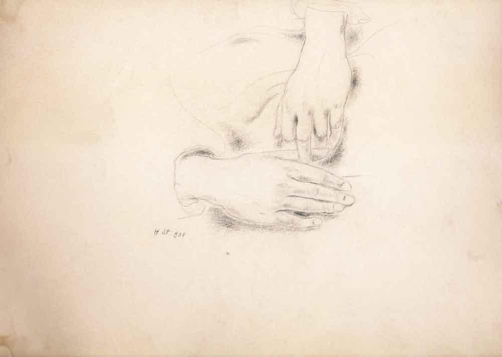 Hedda Sterne, Hands