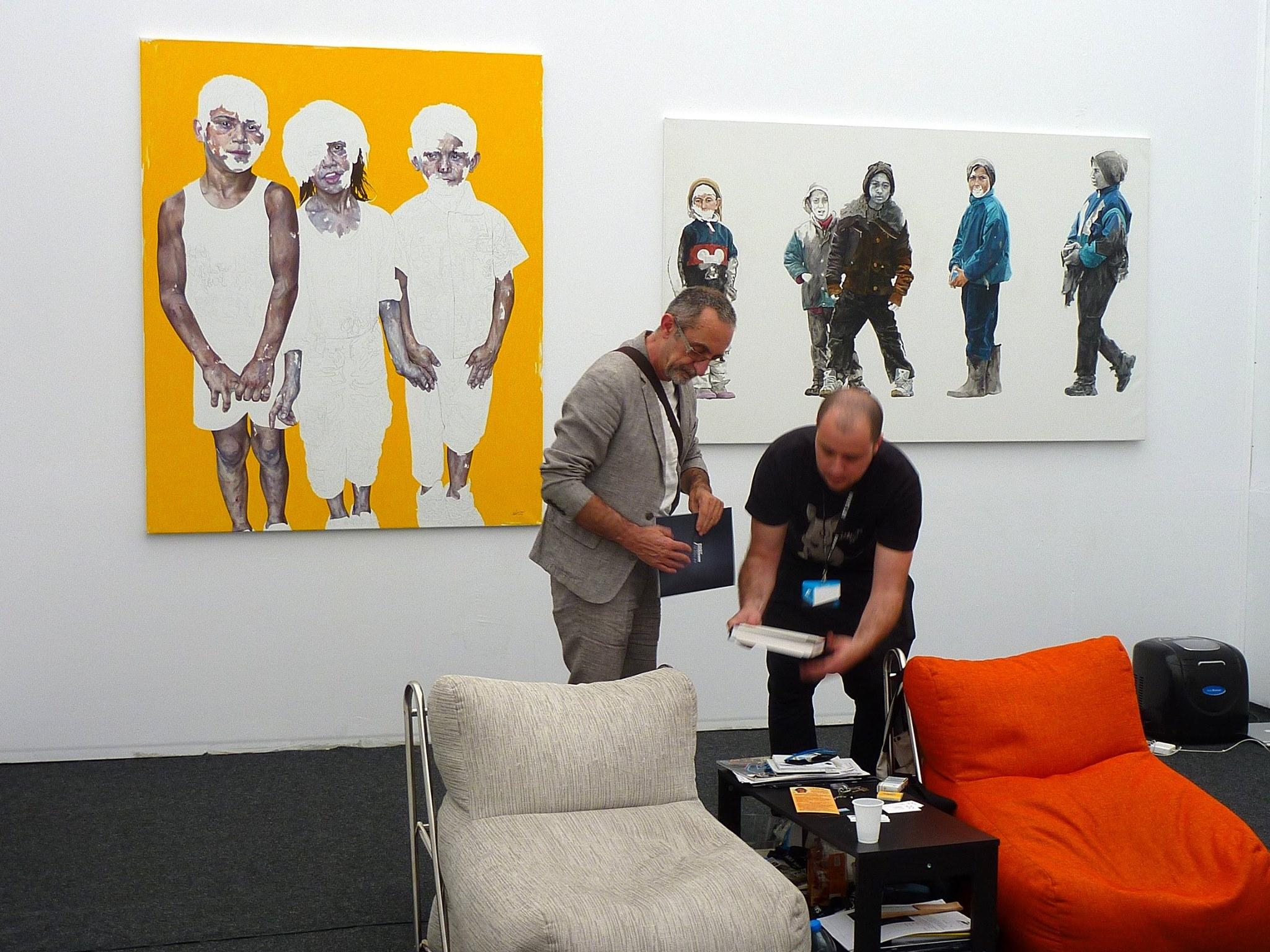 Radu Belcin, Daniel Brici, Gabriel Kelemen, Flavia Pitis, Bogdan Rata @ Art Safari 2014 (13)
