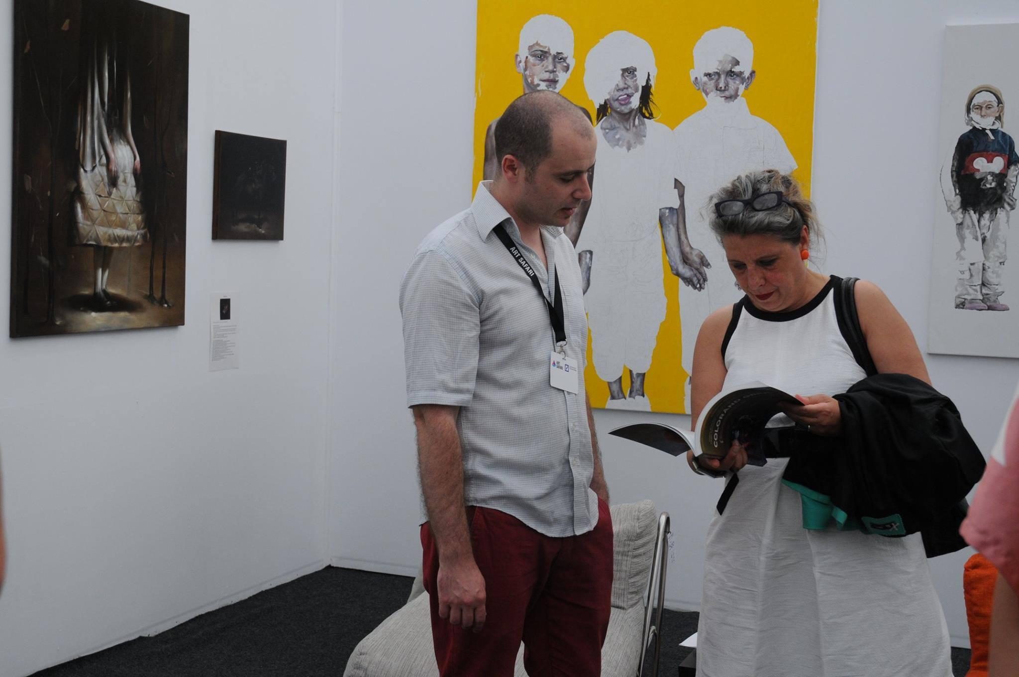 Radu Belcin, Daniel Brici, Gabriel Kelemen, Flavia Pitis, Bogdan Rata @ Art Safari 2014 (32)