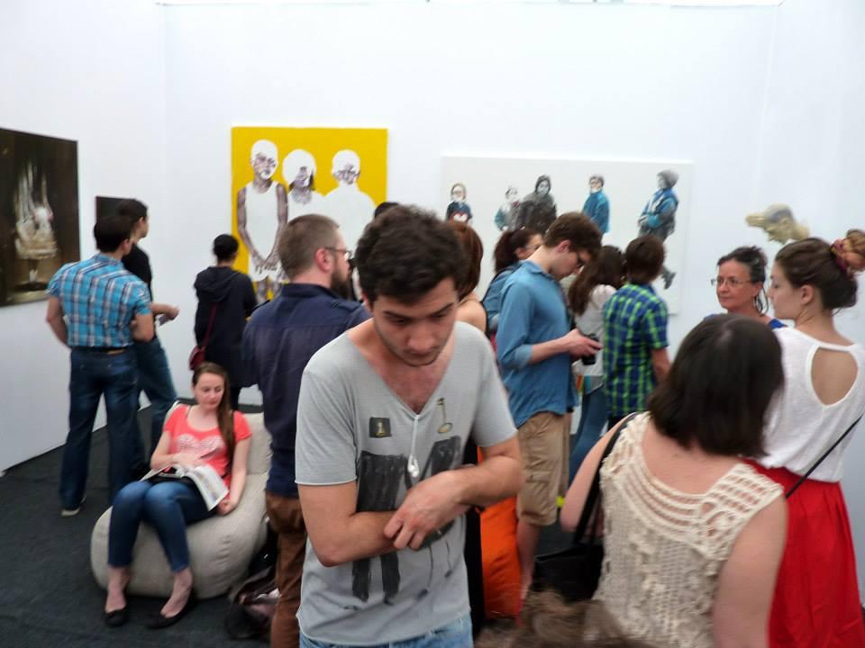 Radu Belcin, Daniel Brici, Gabriel Kelemen, Flavia Pitis, Bogdan Rata @ Art Safari 2014 (6)