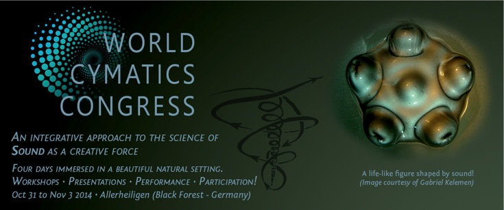 Gabriel Kelemen part of World Cymatics Congress