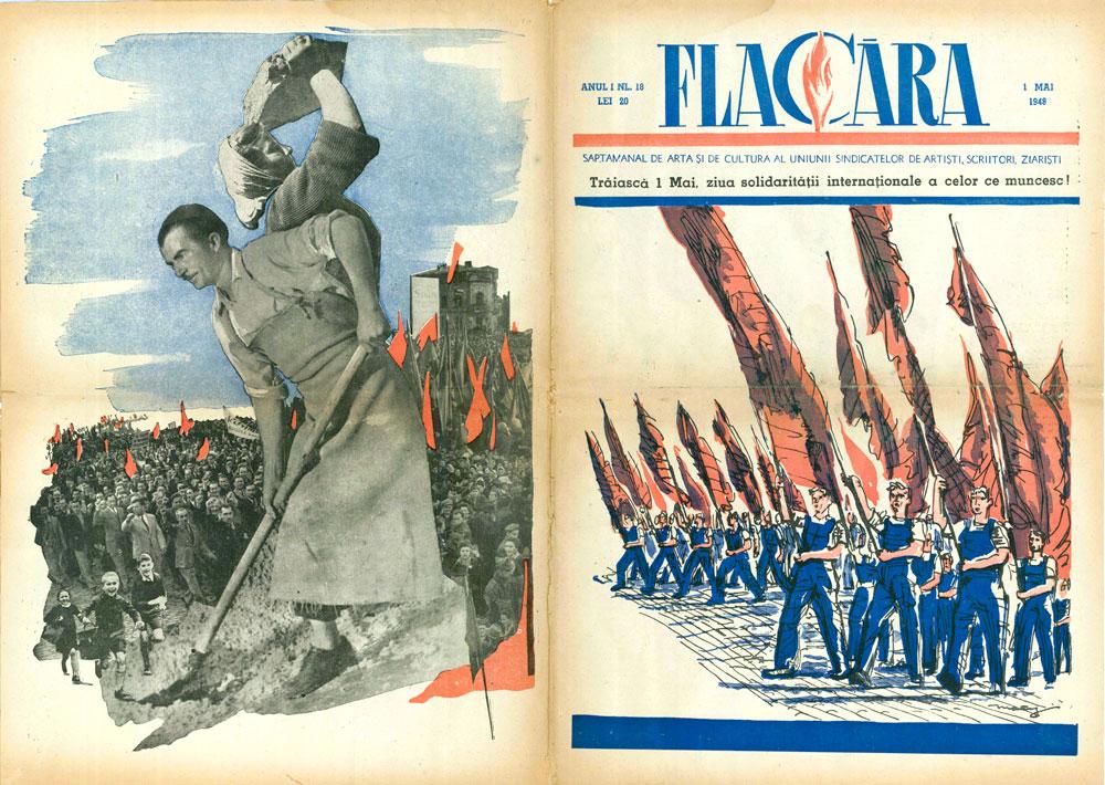 Flacara 1 mai 1948 coperti