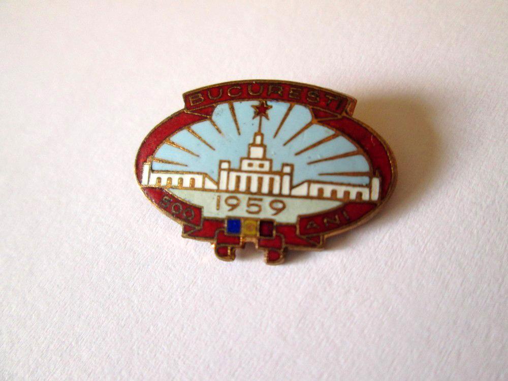 Insigna Bucuresti 500 ani din 1959