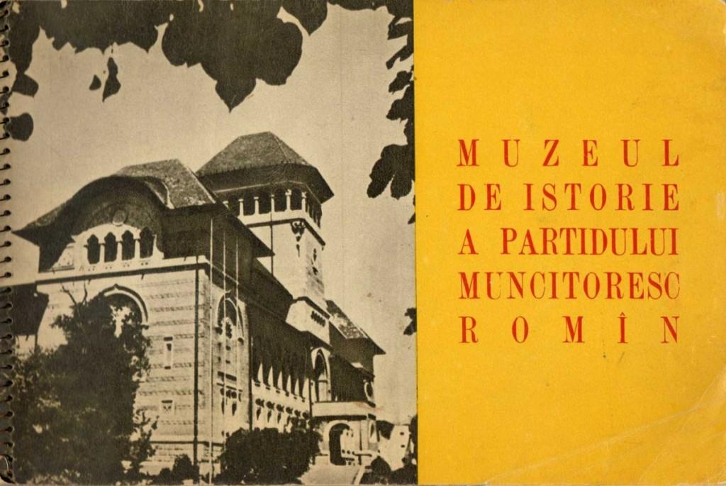 Muzeul de istorie al Partidului Muncitoresc Romin, 1958, 40 pg