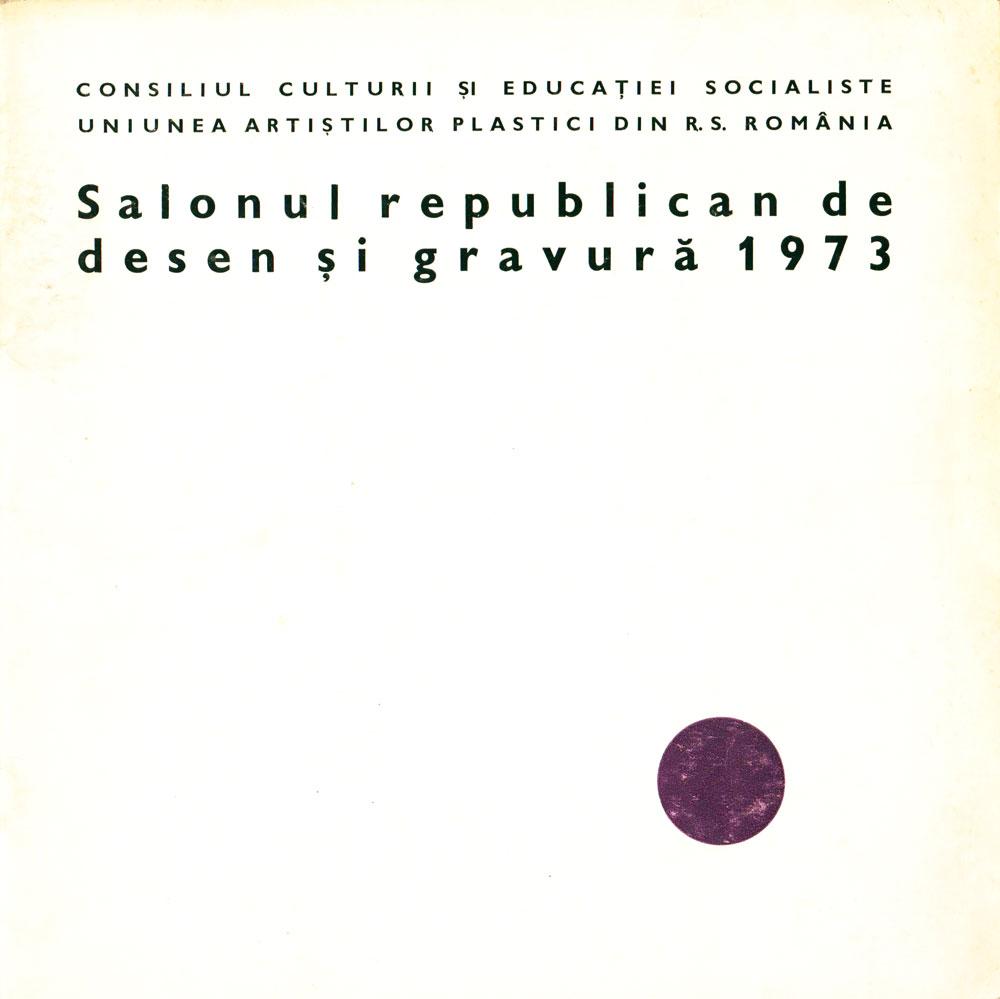 Salonul republican de desen si gravura 1973