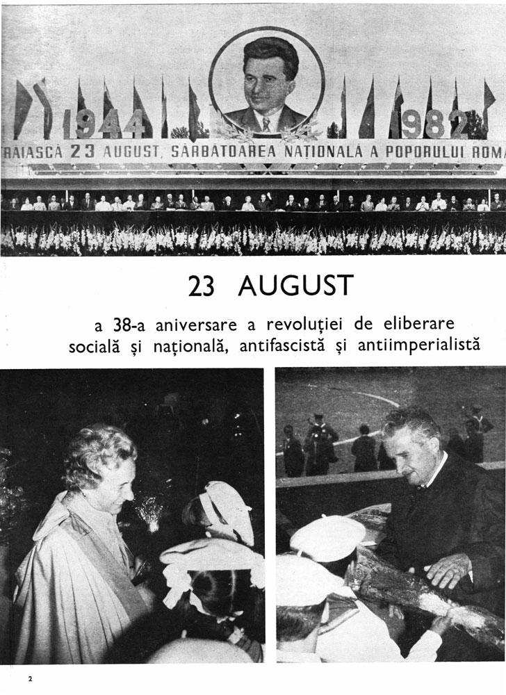 23 August 1944 Revista Arta nr 7-8 1982 1