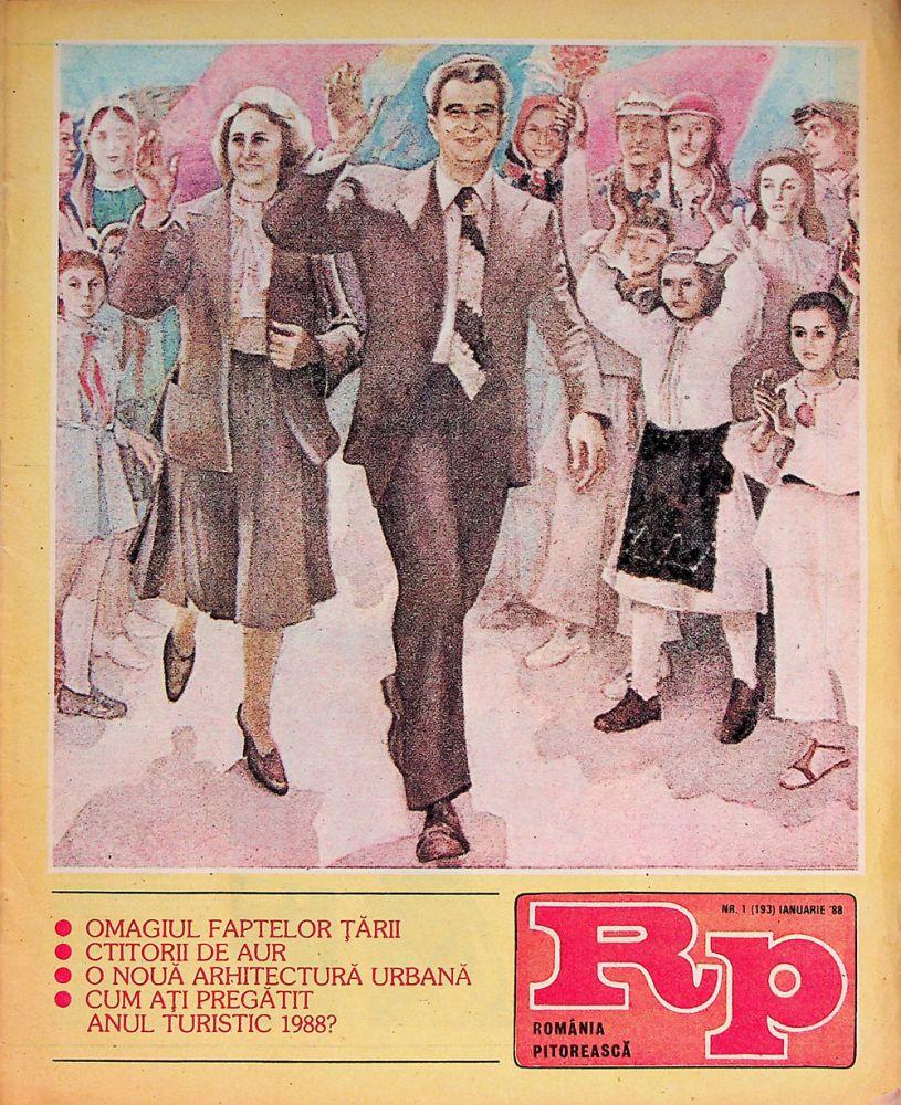 Romania Pitoreasca, nr 1, ianuarie 1988