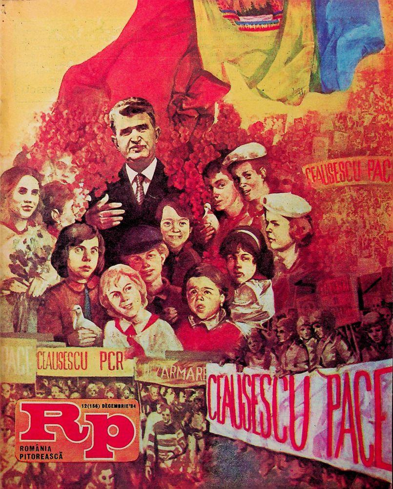 Romania Pitoreasca, nr 12, decembrie, 1984