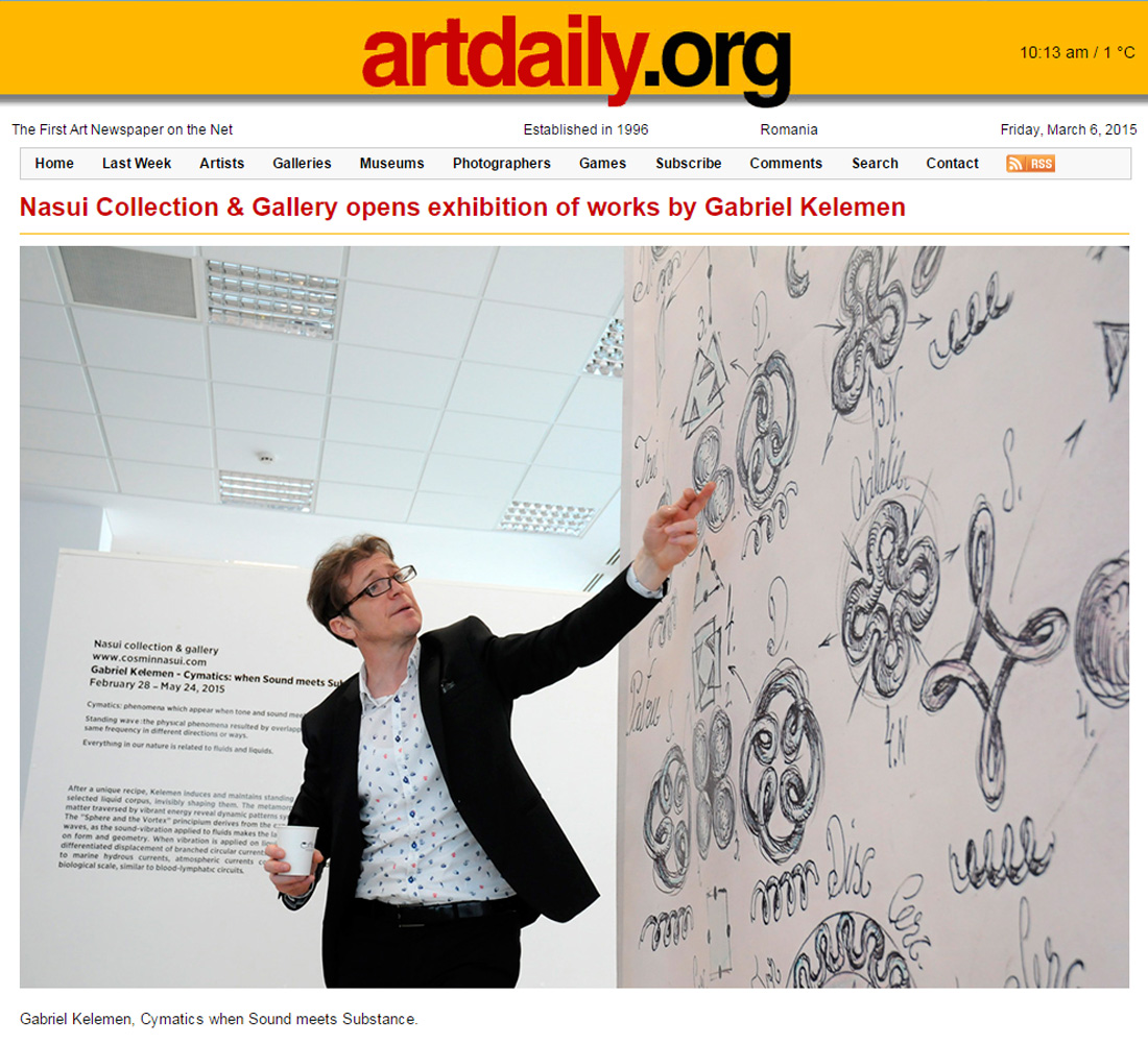 Artdaily.org, March 06, 2015