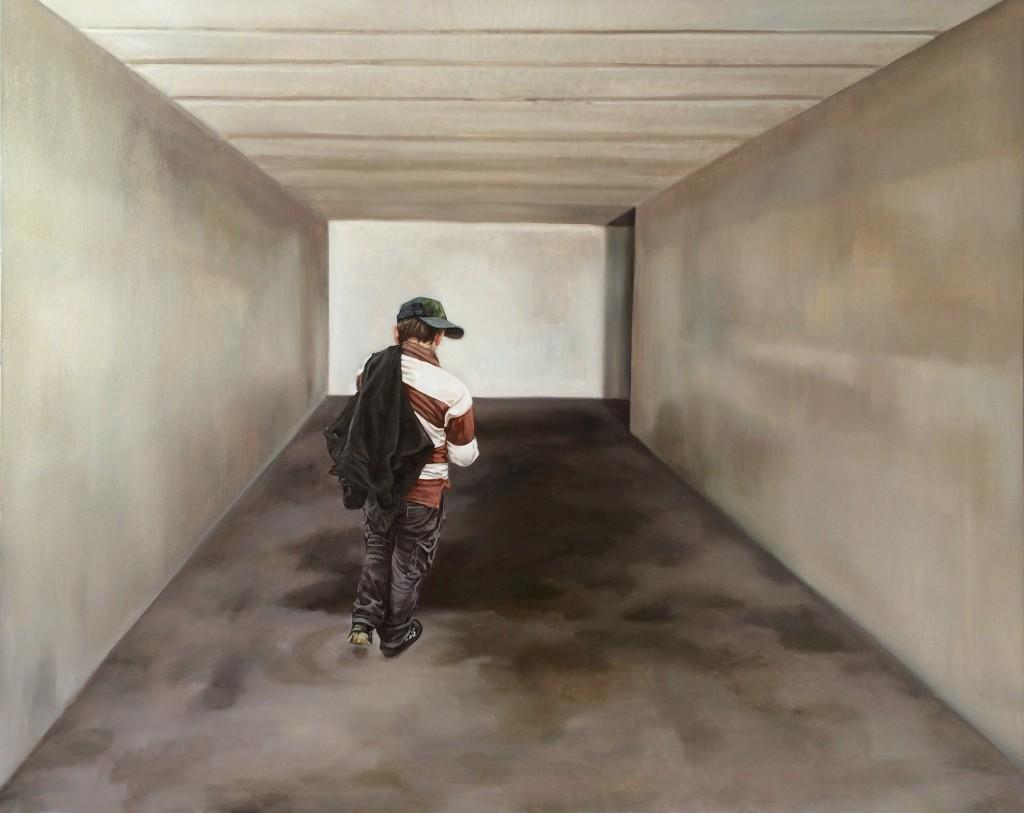 Anca Danila, The world around me, 2015, oil on canvas, 80x100 cm