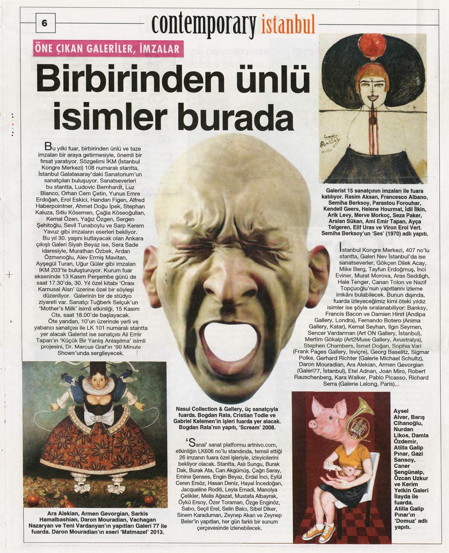 Cumhuriyet, November 12, 2014