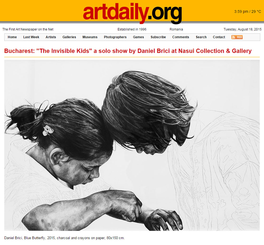 Artdaily.org, August 15, 2015