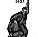 """Cornelia Daneț, """"1933"""", 1963,lithograph, 34x45 cm"""