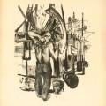 Gheorghe Botan, Aurul negru, 1959, 77,5 x 62,5 cm