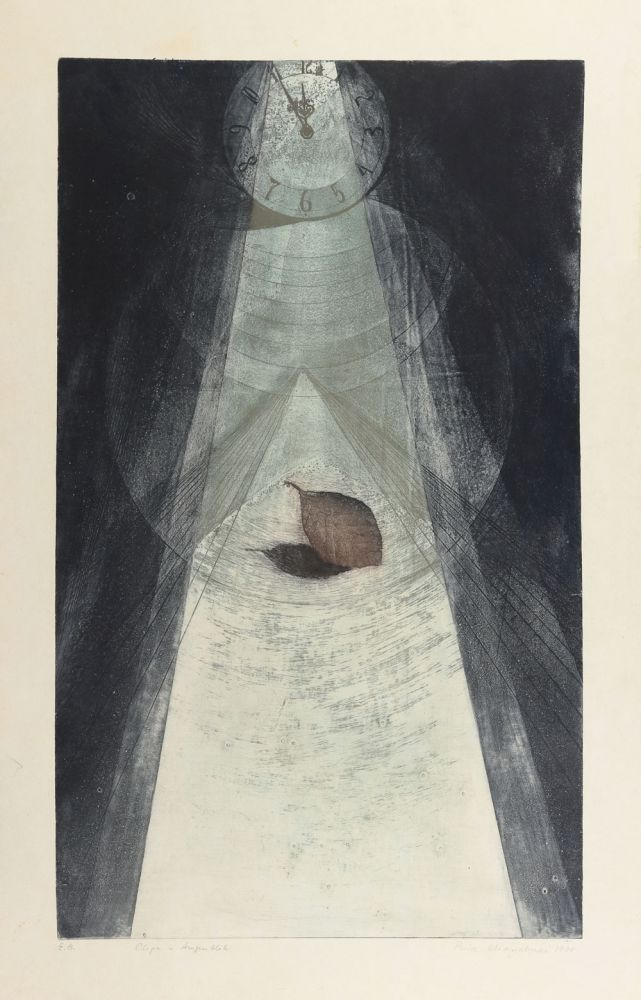Puia Hortensia Masichievici, Clipa, 1978, 71x46 cm