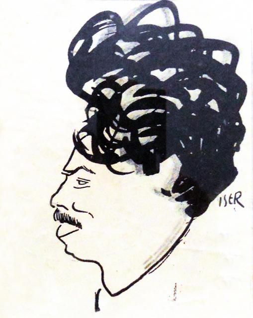 Iosif Iser, Alexandru Cazaban, 1913, 10x13 cm