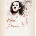 Florica Cordescu, Tînără coreeană, 1955, ESPLA, 24x33 cm