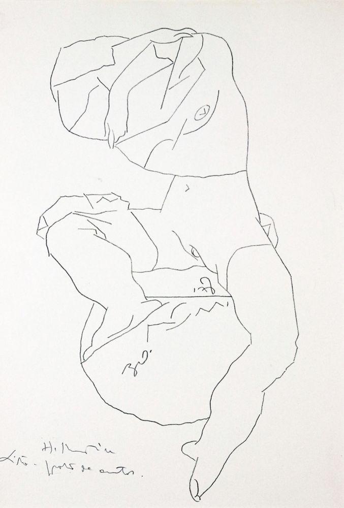 Henry Mavrodin, Litografie, 60/100, 1978, 34 x 49 cm