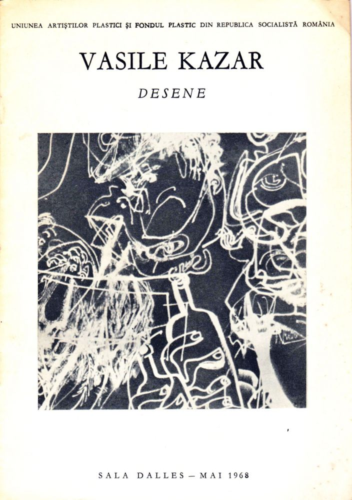Catalog Vasile Kazar, Desene, Sala Dalles, 1968