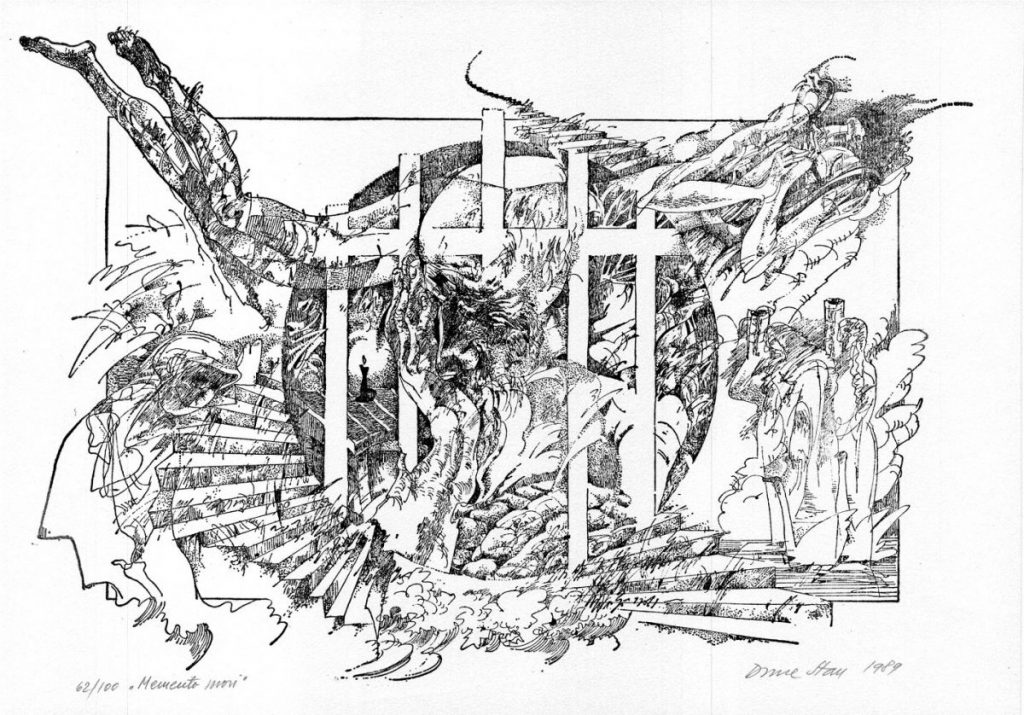 Done Stan, Memento Mori, 62from100, 1989, 51x37 cm