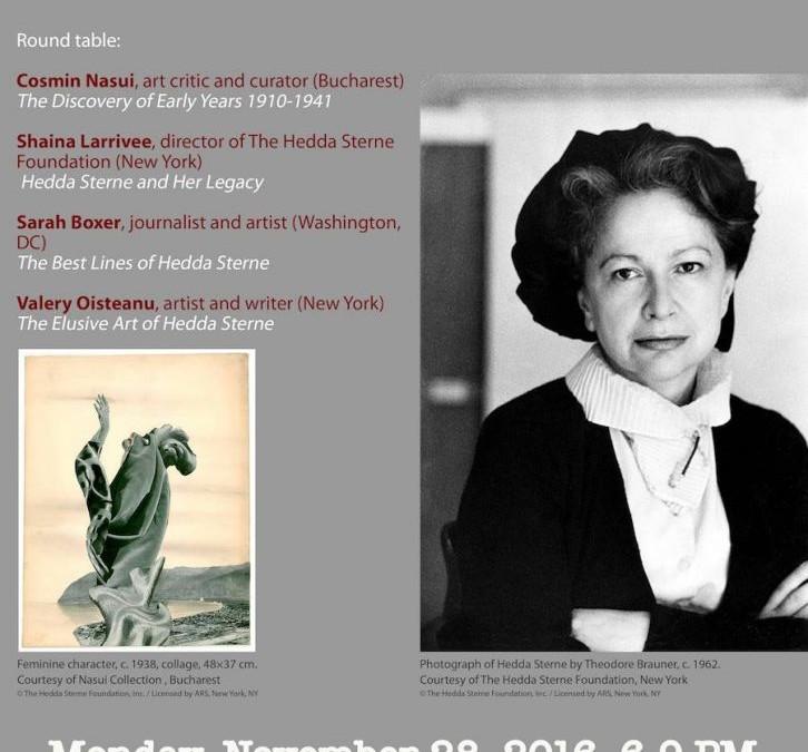 Hedda Sterne @ Museum of Jewish Heritage New York