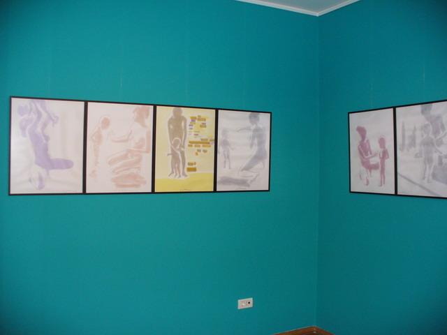 Expozitie Vladimir Setran, Mama-copil si icoane, Galeria Veroniki Art, 2008 (2)