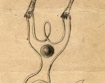 Hedda Sterne, Theodore Brauner, Medi Wechsler Dinu, Cadavre exquis no 99, 1930-1932, crayons on paper, 31,5x11cm