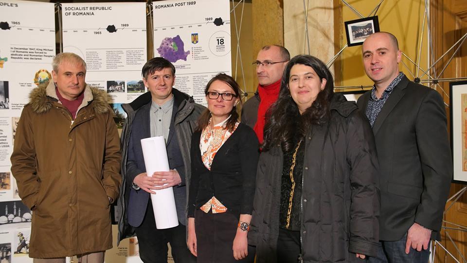 Adrian Majuru, Cristian Vasile, Amalia Alexandru, Alin Ciupala, Andreea Grecu and Cosmin Nasui