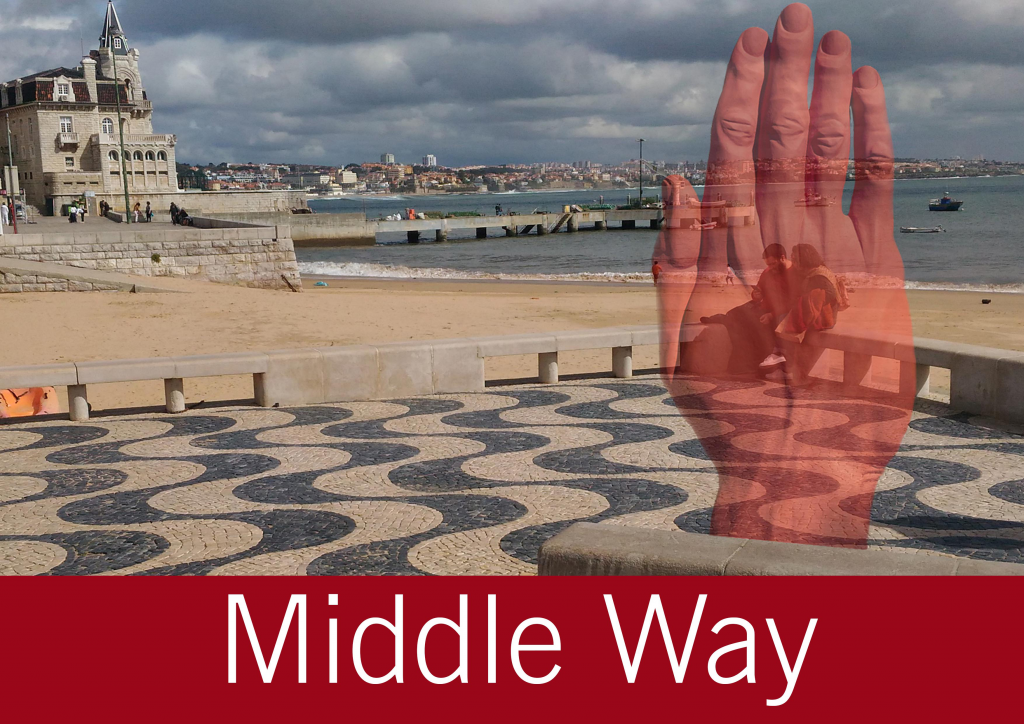 "Moving Monuments ""Middle Way"" by Bogdan Rața @ Cascais"