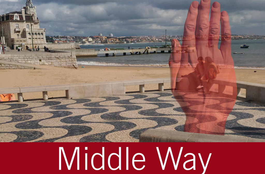"Moving Monuments: ""Middle Way"" by Bogdan Rața @ Cascais"