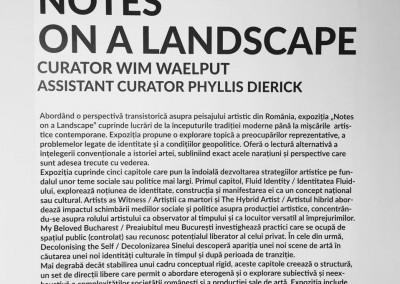 """Hedda Sterne, Jules Perahim, Medi Wechsler Dinu, Vasile Dobrian, Geta Bratescu fetured in """"Notes on a Landscape"""" (1)"""