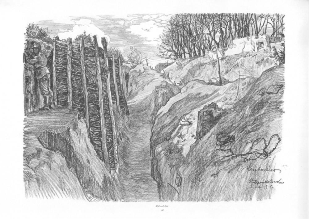 Nr.22 Stützpunkt Czarkow 2.5.1915