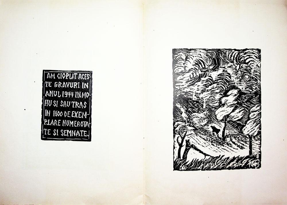 Nicolae Brana, Miorita, cu text dupa Vasile Alescandri, Bucuresti 1957 12
