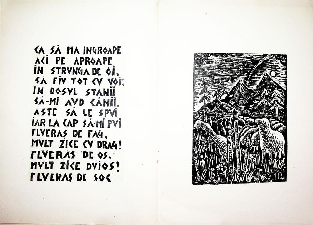 Nicolae Brana, Miorita, cu text dupa Vasile Alescandri, Bucuresti 1957 6