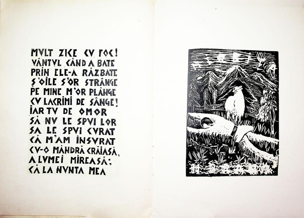 Nicolae Brana, Miorita, cu text dupa Vasile Alescandri, Bucuresti 1957 7