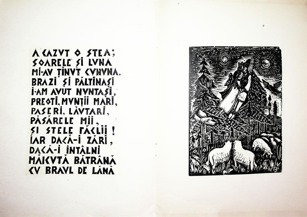 Nicolae Brana, Miorita, cu text dupa Vasile Alescandri, Bucuresti 1957 8