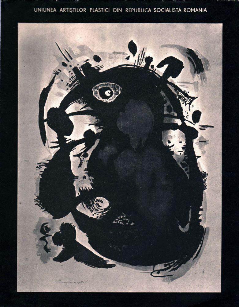 Lidia Mihăescu, catalog expozitie Galeria Orizont, iulie 1987