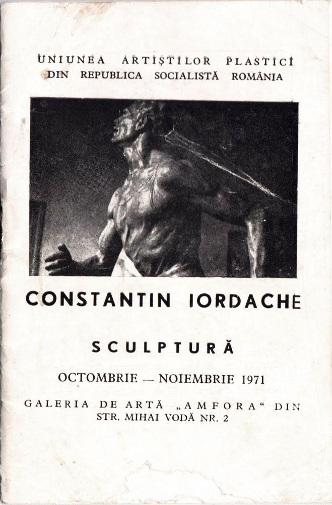 Constantin Iordache, Galeria de arta Amfora, 1971