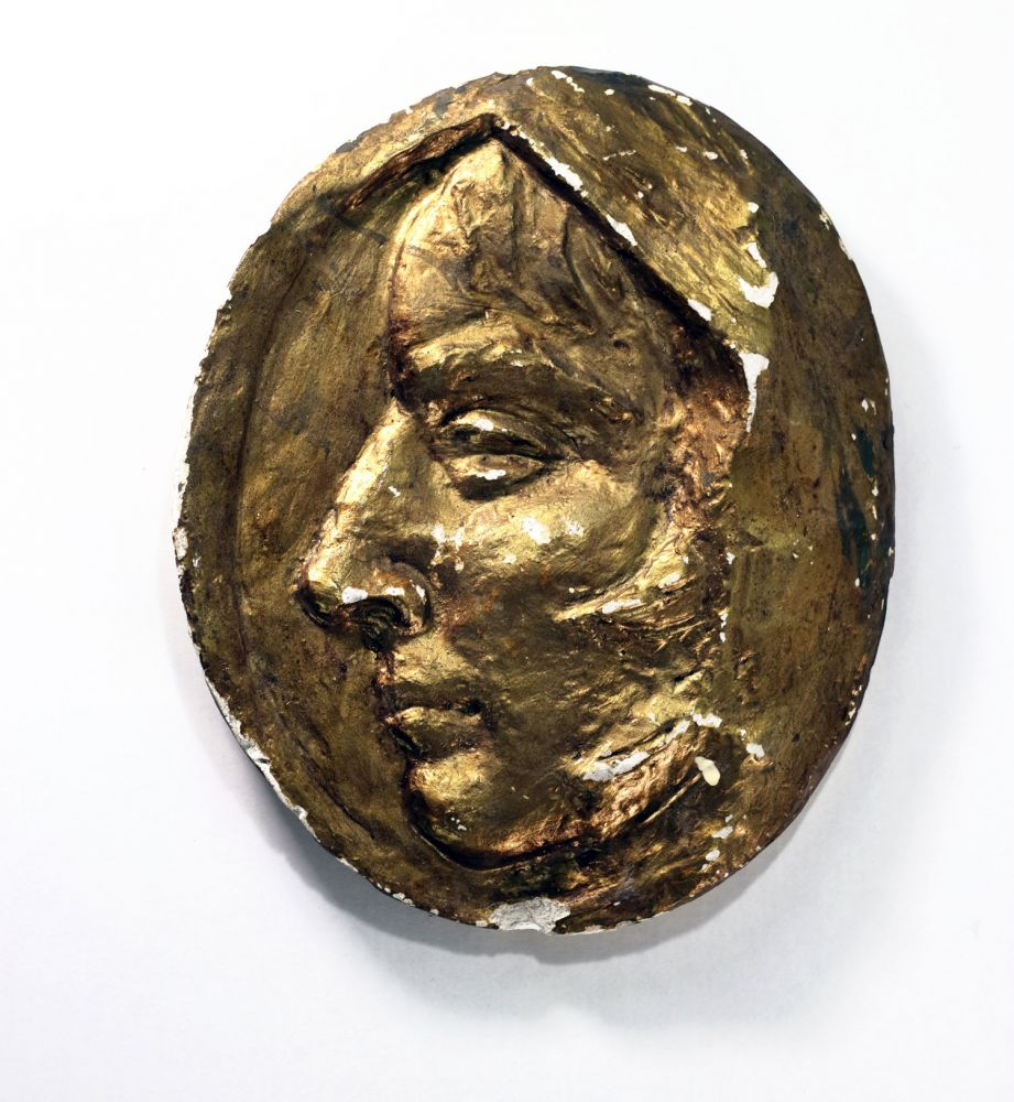 Constantin Iordache, Profil de femeie, 20x10x3 cm