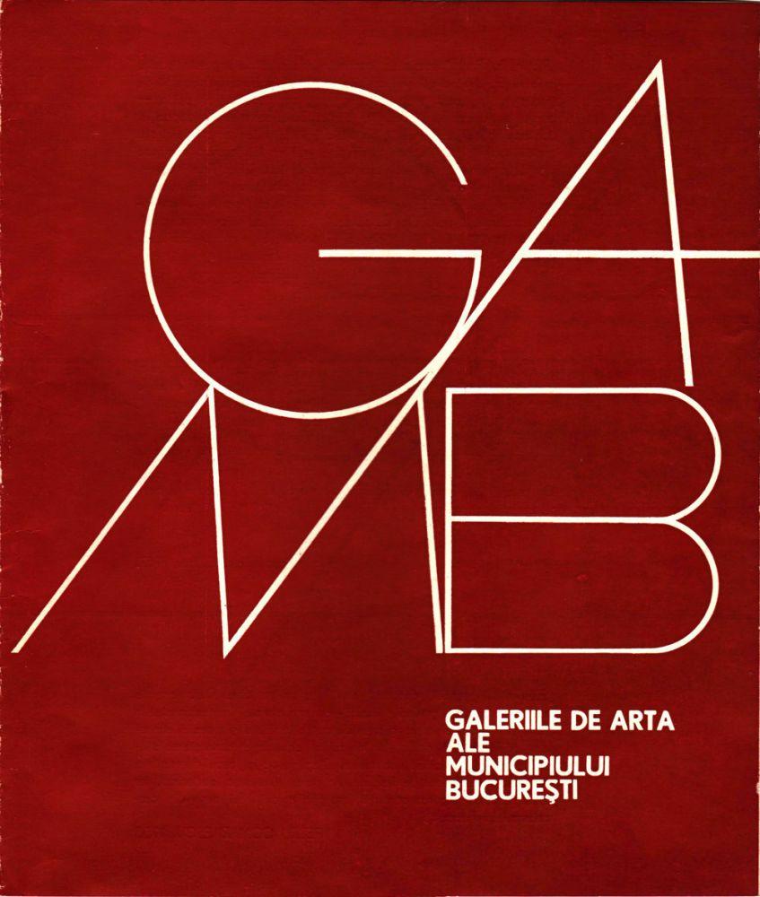 Catalog Paul Atanasiu, Galeriile de Arta ale Municipiului Bucuresti, 1975