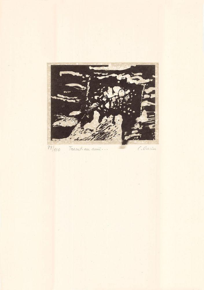 Constantin Baciu, Trecut-au anii…, 78from100, 51x37 cm