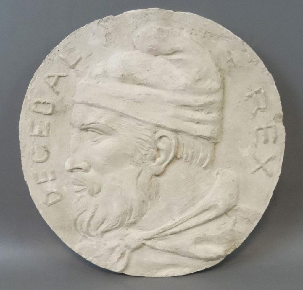 Constantin Iordache, Decebal Rex, ipsos, dia. 32cm