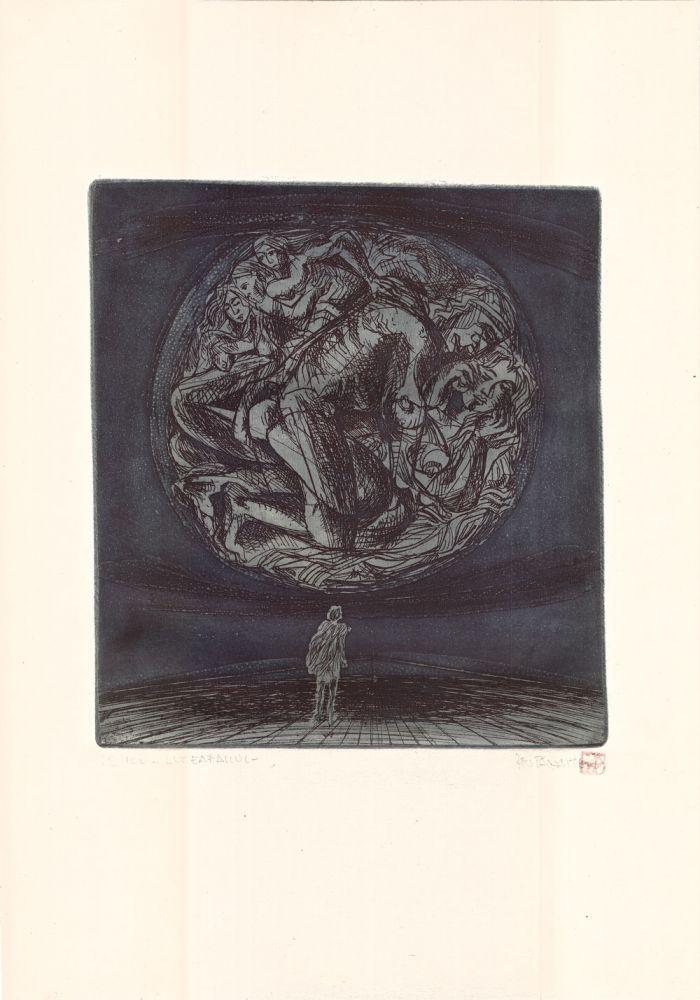 Ion Panaitescu, Luceafarul, 68from100, 51x37 cm
