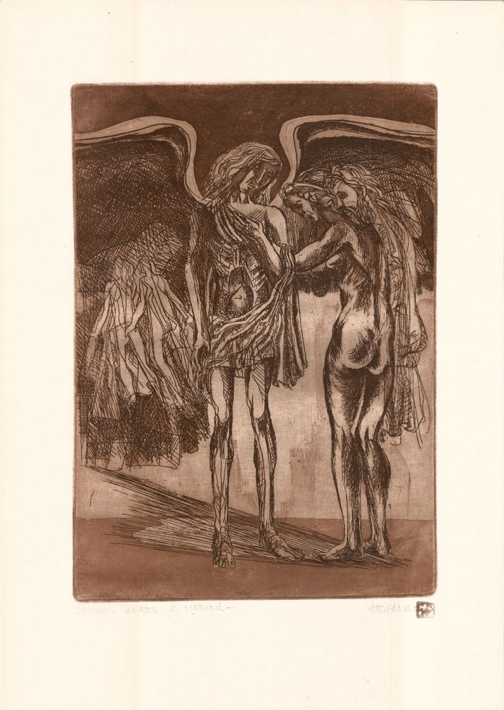 Ion Panaitescu, Venere si Madona, 28from100, 51x37 cm