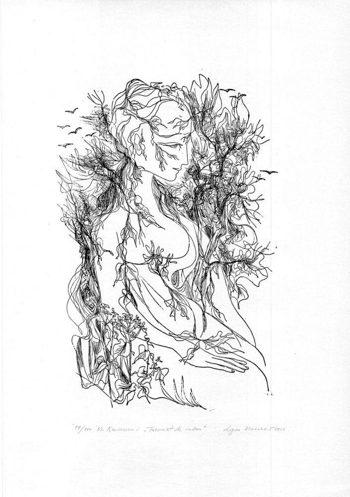 Ligia Macovei, Freamat de codru, 19from100, 1964, 51x37 cm